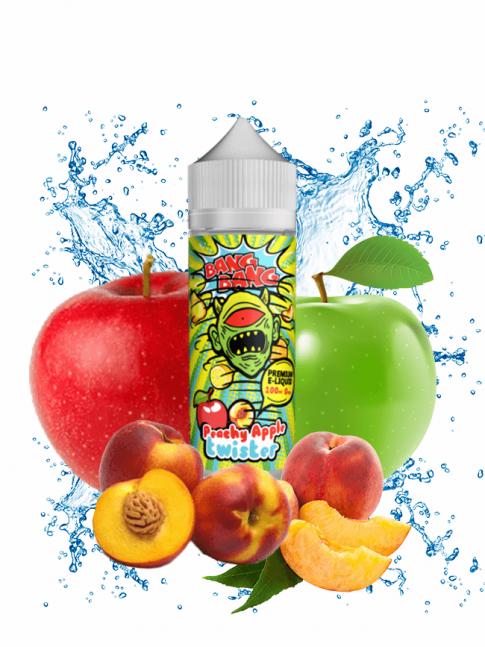 Buy Peachy Apple Twister 100 ml at Vape Shop – 7Vapes
