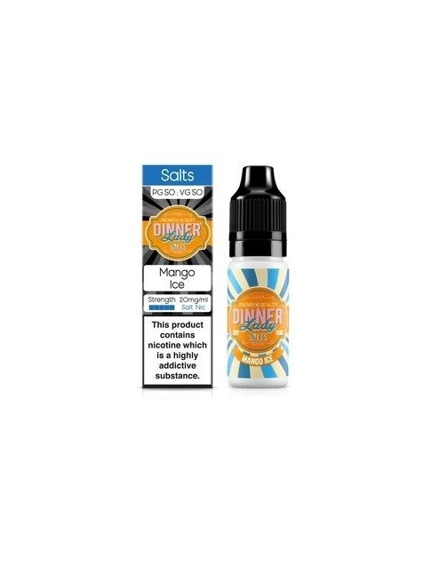 Buy DINNER LADY SALTS MANGO ICE at Vape Shop – 7Vapes