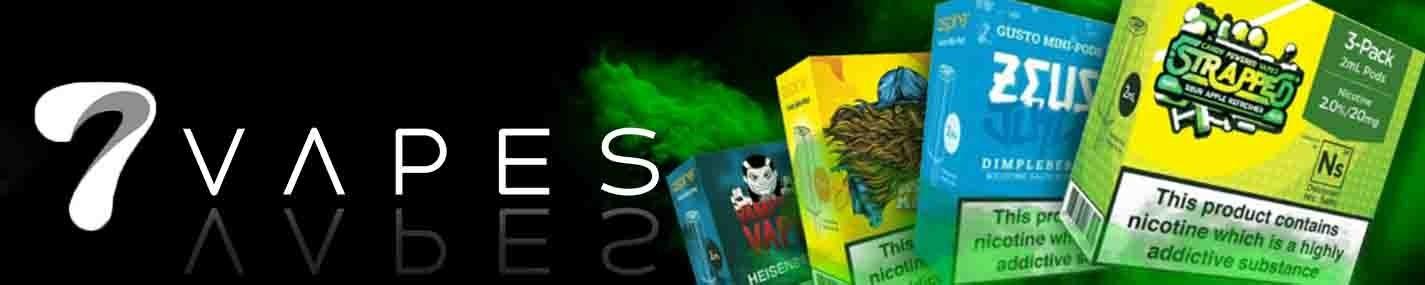 Gusto Mini NS20 Pods | 7Vapes E-cigarettes